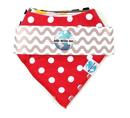 baby-bandana-bib-set-4-pack-super-absorbent-soft-chic-organic-drool-bibs-for-boys-girls-by-mb-wills