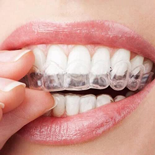 Transparent Silicone Thermoform Moldable Dental Mouth Guard,Whitening Teeth Trays Whitener Mouth Guard Care Oral Hygiene Bleaching Tooth Tool (1PC)
