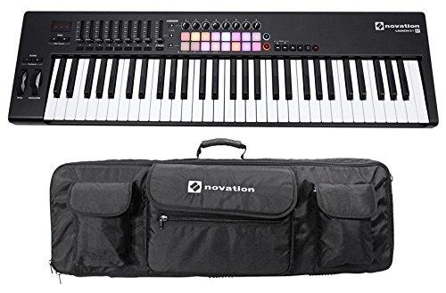 Novation LAUNCHKEY 61 MK2 MK11 61-Key USB/MIDI Controller Keyboard + Carry Case