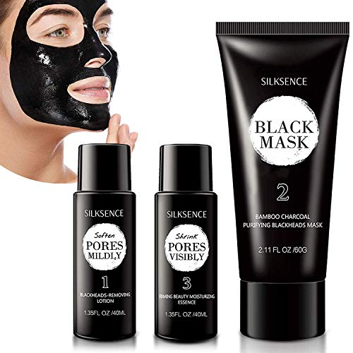 NEW Upgraded 3-Step Blackhead Treatment System - Blackhead Mask Blackhead Remover Mask With Removing Lotion And Moisturizing Essence(140g)