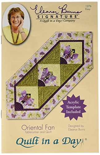 Oriental Fan: Eleanor Burns Signature Quilt Pattern by Quilt in a Day