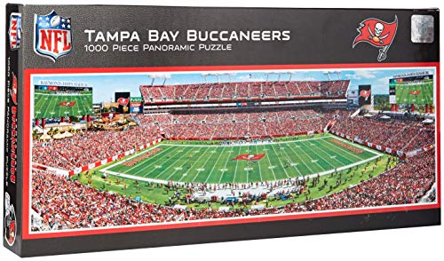MasterPieces NFL Tampa Bay Buccaneers 1000 Piece Stadium Panoramic Jigsaw Puzzle