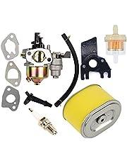 OxoxO Vervang Carburateur met Brandstoffilter Luchtfilter Bougie voor Gx140 Gx160 Gx200 5.5hp 6.5hp Motor Generator Grasmaaier Motor