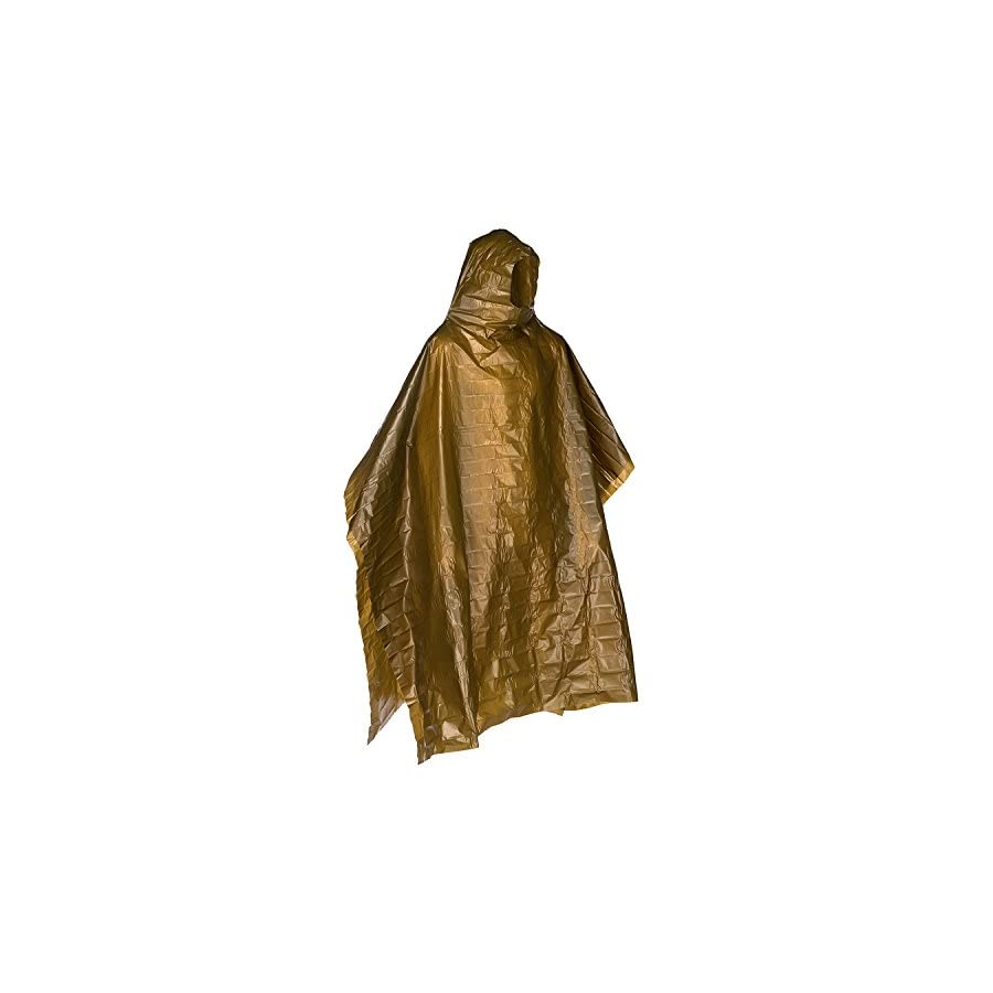 Lightweight Rain Gear Poncho Emergency Survival Cover Shelter Norwegian Military Surplus