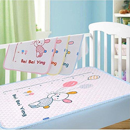 JanLEEsi Toddler Mattress Pads 1-Pack Baby Waterproof Isolation Pad,Large by JanLEEsi