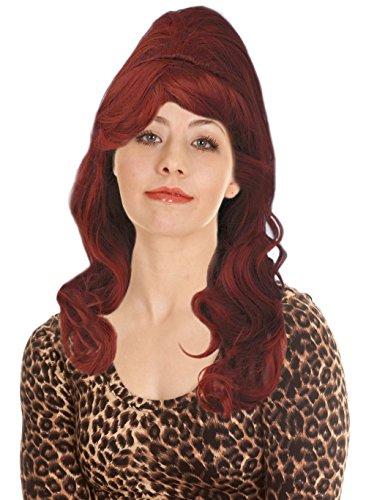 Costume Adventure Auburn Bouffant Peg Bundy Style Wig for Peggy Bundy