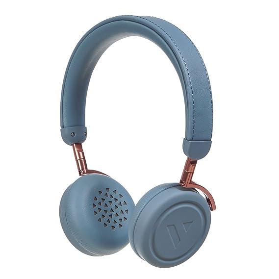 Amazon.com: VAIN STHLM 200083 Commute Bluetooth Wireless 4.1 + aptX Headphones Slate Blue: Electronics