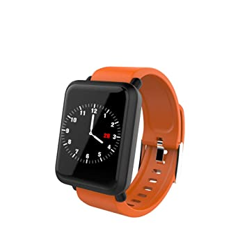 Winnes Montre Connectée Bluetooth Smartwatch Montre Sport Bracelet Fitness Tracker pour Samsung Sony Huawei Android pour