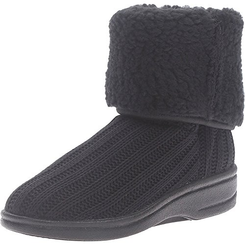 4941 Arcopedico Milan 2 Womens Boots, Black Knit, Size - 38