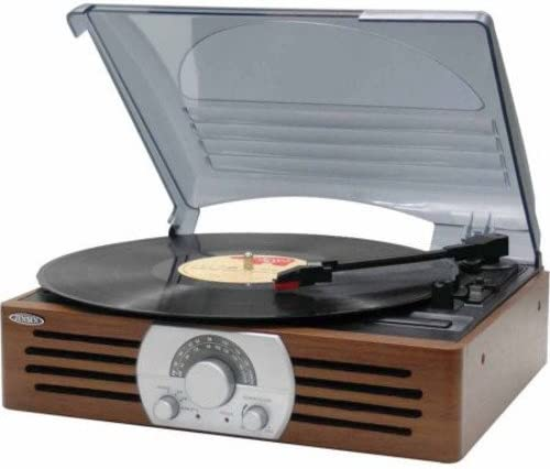 JENSEN Jensen 3-speed Stereo Turntable With Am And Fm Stereo Radio