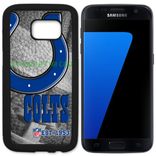 Colts Indianapols Football New Black Samsung Galaxy S7 Case By Mr Case