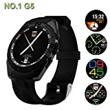 Touch Screen Smart Watch with Bluetooth , Pedometer , Activity Tracker , Heart rate monitor compatible with Xiaomi , ViVo , Oppo , Samsung , Nokia , Motorola , HCl , HTC , Micromax , Gionee , Lenovo mobile Phones