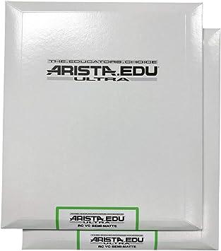 Semi-Matte 8x10 Arista EDU Ultra VC RC Black /& White Photographic Paper 100 Sheets