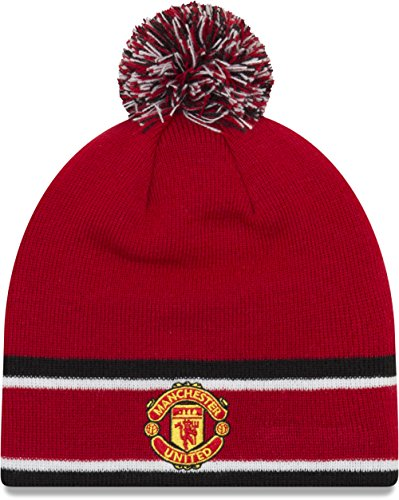 Rosso Punto Gorro United de Manchester Bobble vx4wXqBTnI