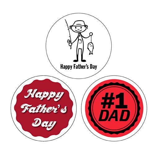 Father's Day Sheet Labels 1-1/2