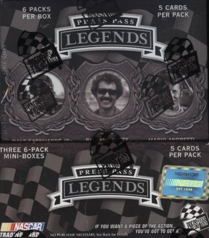 2008 Press Pass Legends Racing HOBBY Box - 18P5c (Press Pass Racing Hobby Box)