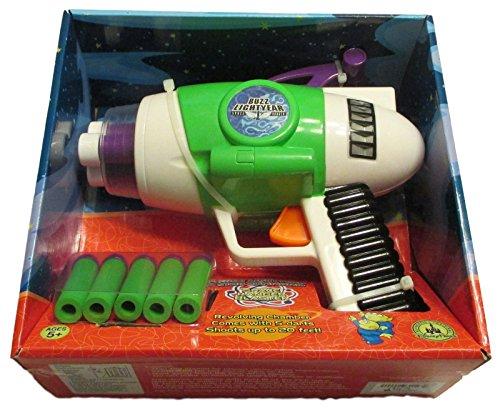 Cheap Buzz Lightyear (Disney Parks Toy Story Buzz Lightyear's Toy Foam Nerf Gun Blaster w/ Lights & Sounds - cool gift idea for kids (1-3 days shipping))