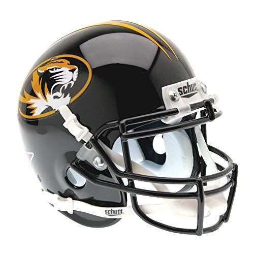 Tigers Helmet Ornament - Schutt NCAA Missouri Tigers Mini Authentic XP Football Helmet, Classic