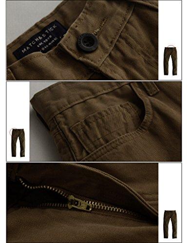 Hommes Pantalon Slim 8032 Tan 8095 Chino Match 1nvxgRx