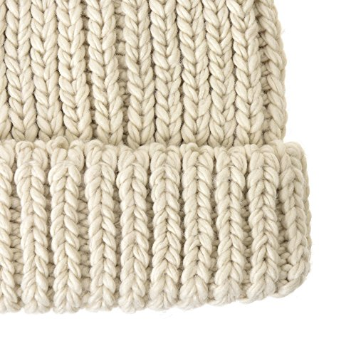 Cuff Skull WITHMOONS KR5911 Cap de Marfil Gorros Punto Beanie Hat Knit Ribbed Slouchy Thick ww0vBSq