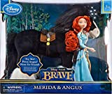 Disney / Pixar BRAVE Movie Exclusive 12 Inch Deluxe Doll 2Pack with Sound Merida Angus