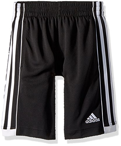 adidas Boys' Big Athletic Sports Short, Speed 18 Black, M (10/12)