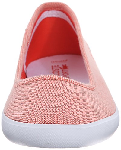 Women's Red CRM Red Flat Lacoste Marthe 6waPqdFd