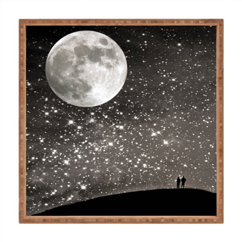 Cheap  Deny Designs Shannon Clark Love Under The Stars Indoor/Outdoor Square Tray, 12..