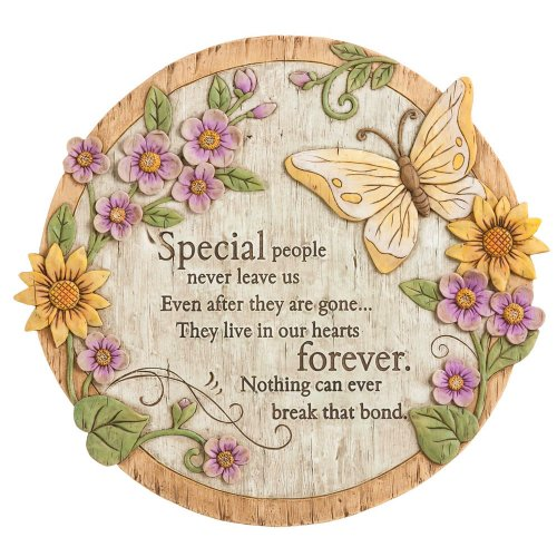 (Evergreen Garden Special People Never Leave Us Even After Their Gone Memorial Wishgivers Garden Stone)