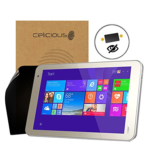 - Celicious Privacy 2-Way Anti-Spy Filter Screen Protector Film Compatible with Toshiba Encore 2 8.0
