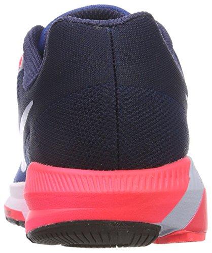 Zoom Running Air Nike Multicolore Scarpe obsidian Solar Rot Gletscher Uomo Structure 21 Blau herblau H ZBXwq5