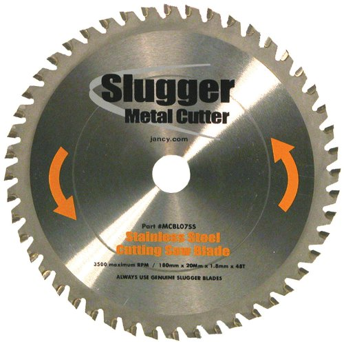 Jancy Slugger MCBLO7-SS Stainless Steel Cutting Saw Blade, 7'' Diameter, 48 Teeth by Jancy