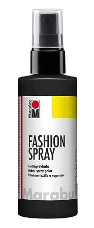 Marabu 17190050073 - Fashion Spray, Textilsprühfarbe, m. Pumpzerstäuber, für helle Textilien, weicher Griff, einfache Fixieru