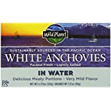 Wild Planet Wild Anchovies in Water,  4.375 Ounce (Pack of 12)