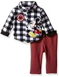 Disney Baby Boys' 2-Piece Mickey Mouse Fleece Set