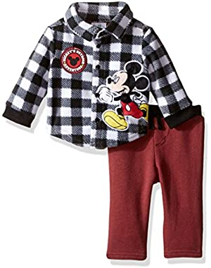 Baby Boys' 2-Piece Mickey Mouse Set