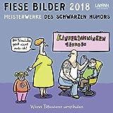 Fiese Bilder 2018: Postkartenkalender