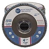 "4.5"" x 7/8"" Premium Zirconia Flap Disc Grinding Wheel 60 Grit Type29-10 Pack"