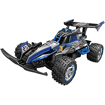 Toy State Nikko Turbo Panther X2 Blue 1:10 Scale Radio Control Vehicle