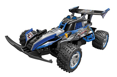 Toy State Nikko Turbo Panther X2 Blue 1:10 Scale Radio Co...