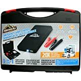 Armor All AJS8-1001-BLK Black Jump Starter Kit and Power Bank (6000 mAh)