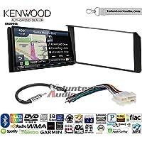 Volunteer Audio Kenwood Excelon DNX994S Double Din Radio Install Kit with GPS Navigation Apple CarPlay Android Auto Fits 1995-2002 Silverado, Sierra