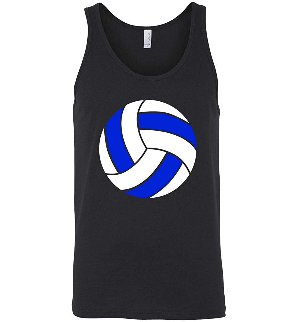 Volleyball Finland Flag Tank for Player Words Terms Vocabulary Black