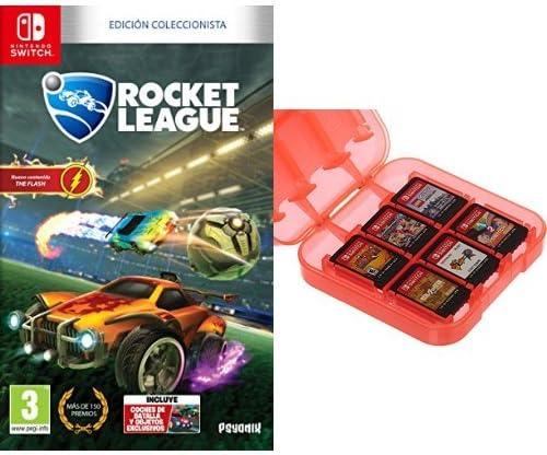 Rocket League - Edición Coleccionista + Funda para almacenamiento ...