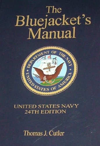 Navy Blue History Book - Bluejacket's Manual