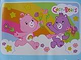 Cheap Care Bears Rainbow Plush Rug Large 6 x 4 ft Kids Floor Accent Rug