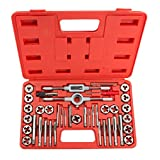 TEKTON 7558 Tap and Die Set, Inch, 39-Piece