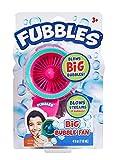 Little Kids Fubbles Biggest Bubbles Fan for Kids Creates 10X Larger Bubbles Includes 4oz of Bubbles, Pink/Teal