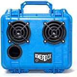 (Almost) Indestructible Bluetooth Speaker. Waterproof, Portable, and Rugged Bluetooth Speakers with Deep Bass & Loud Sound, 50hr Battery Life, Internal Storage + USB Charging, 100ft Bluetooth Range