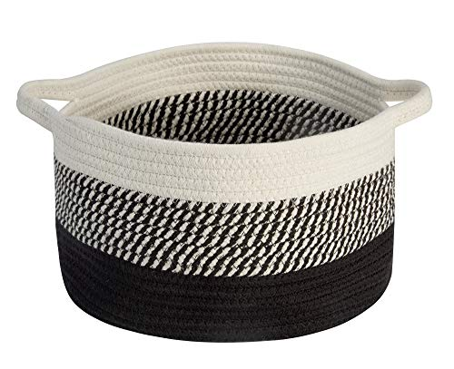 Woven Cotton Rope Basket, 12